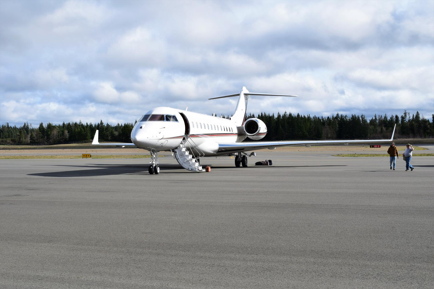 Airport Corporate Jet