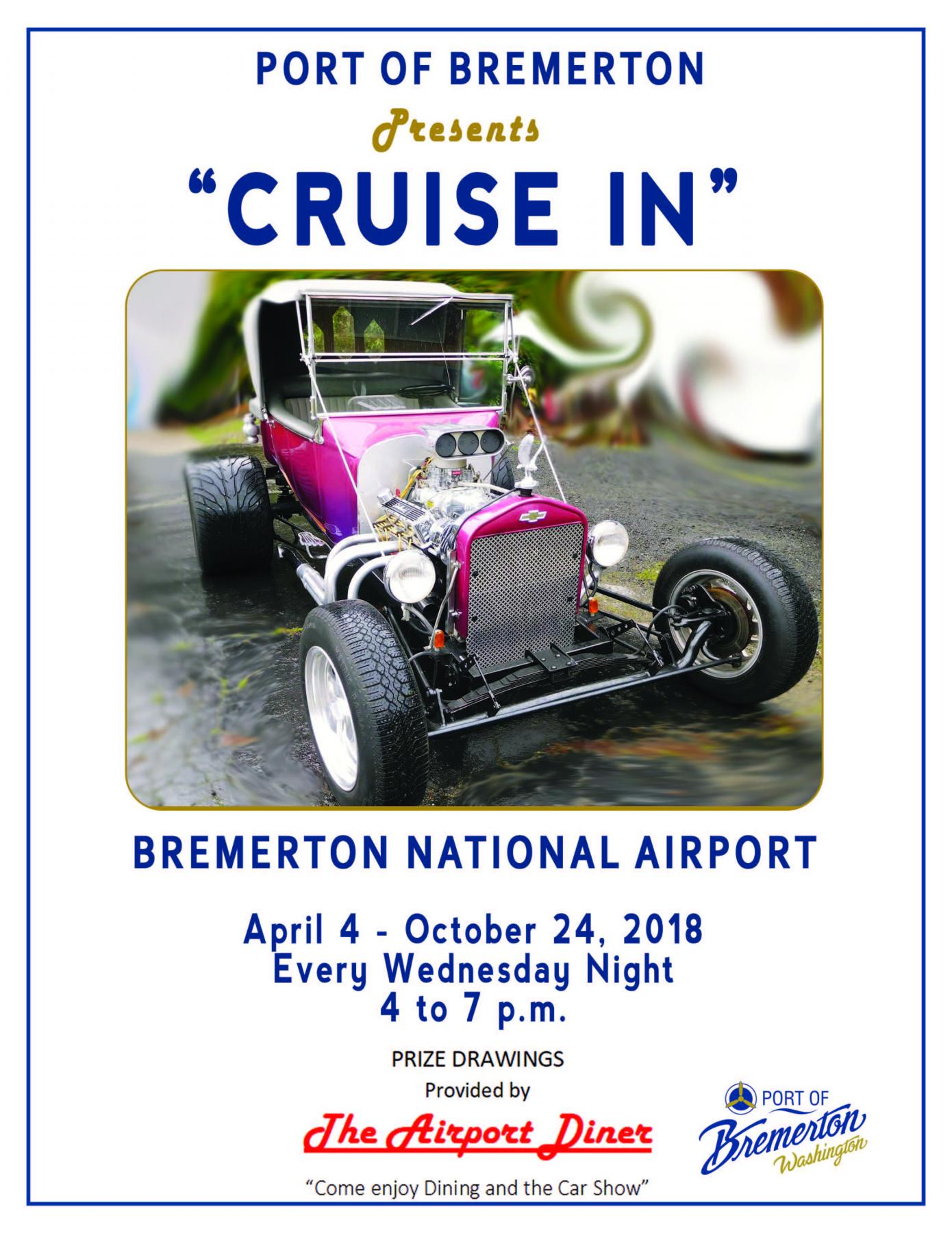 Car Cruise-In Poster