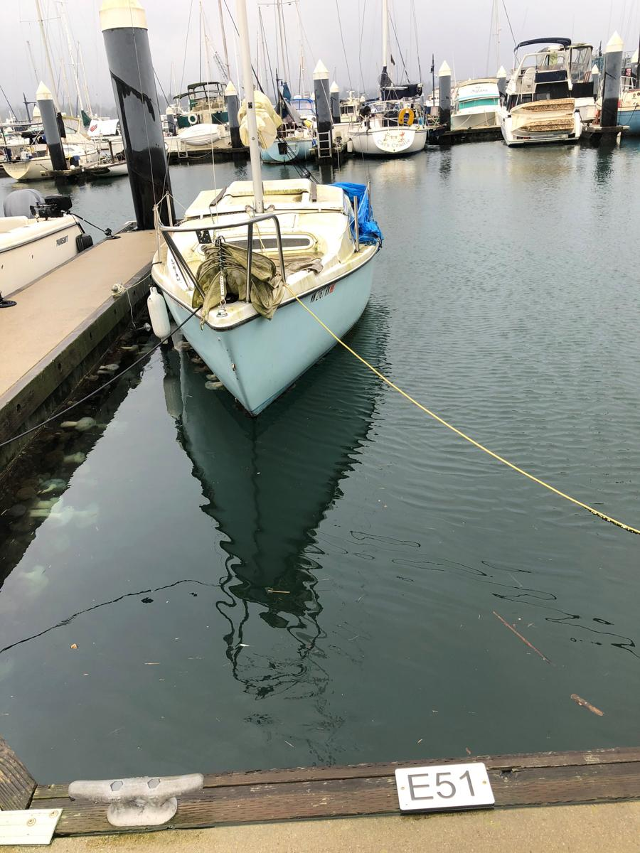 1961 23' MACGREGOR SAILBOAT #2
