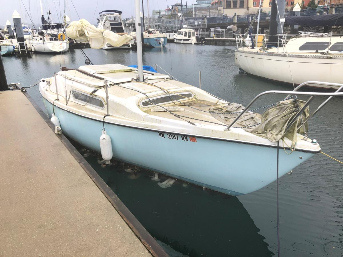 1961 23' MACGREGOR SAILBOAT #3