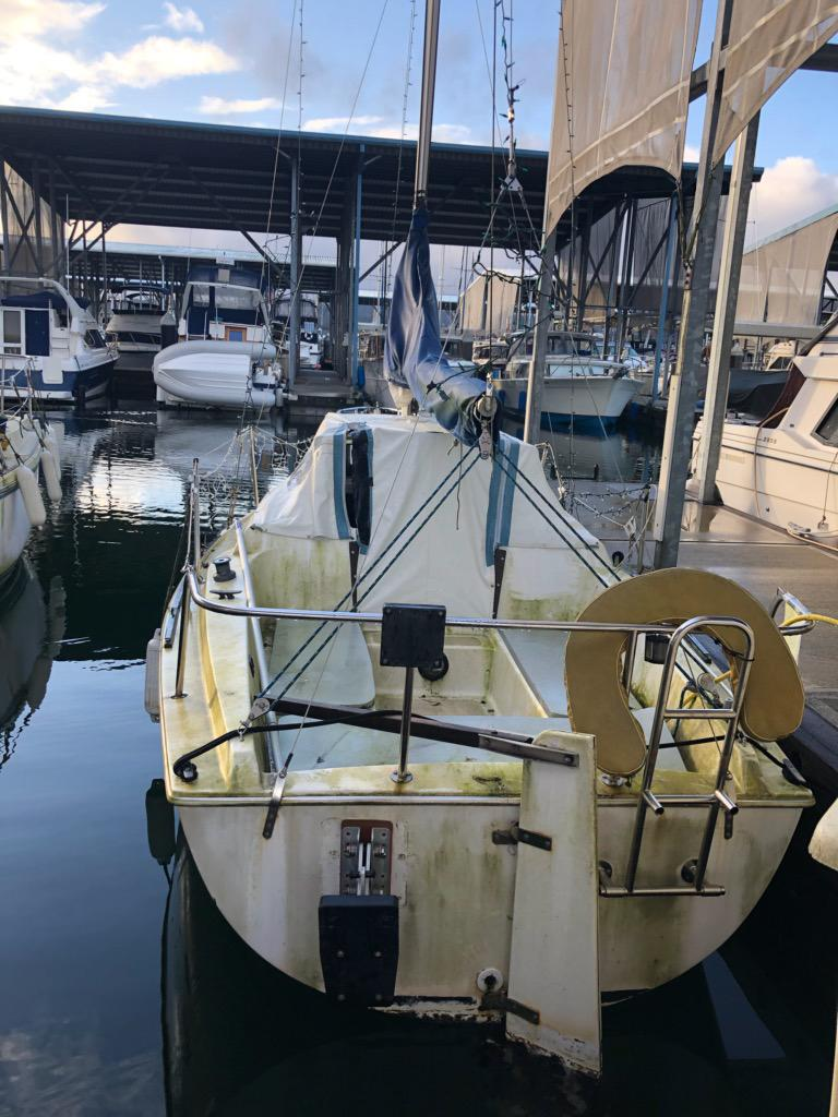 1985 21' LAY22R  AUXILIARY SAILBOAT #2