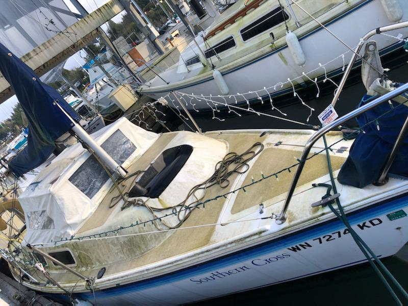 1985 21' LAY22R  AUXILIARY SAILBOAT #3
